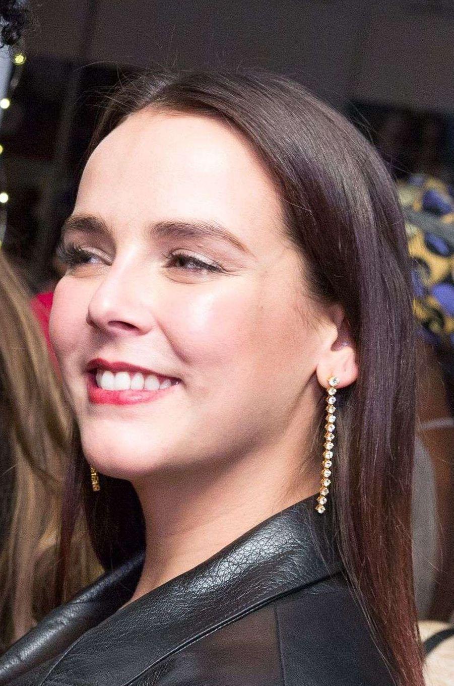 Pauline Ducruet à New York, le 15 novembre 2017