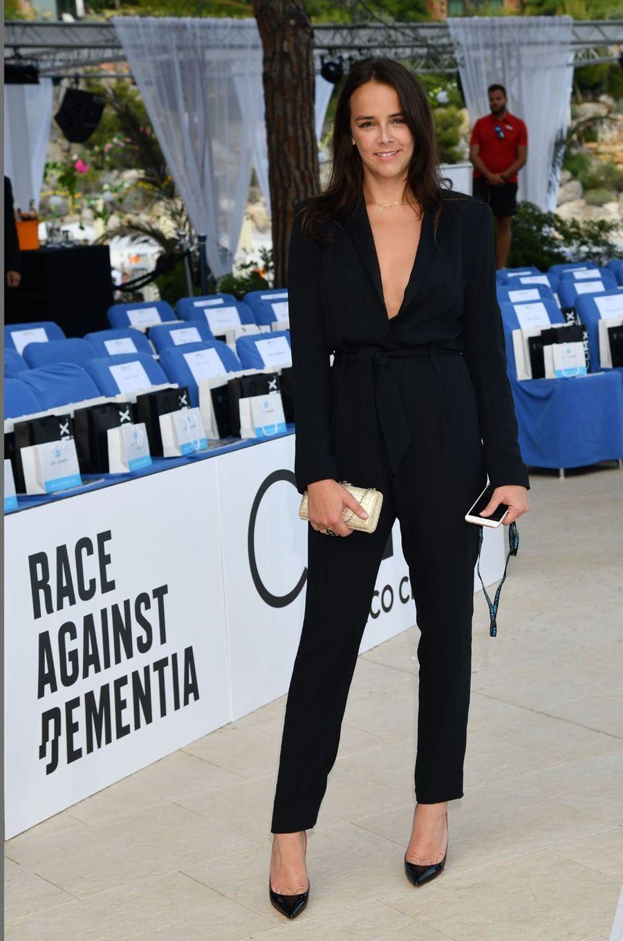 Pauline Ducruet à Monaco, le 25 mai 2018
