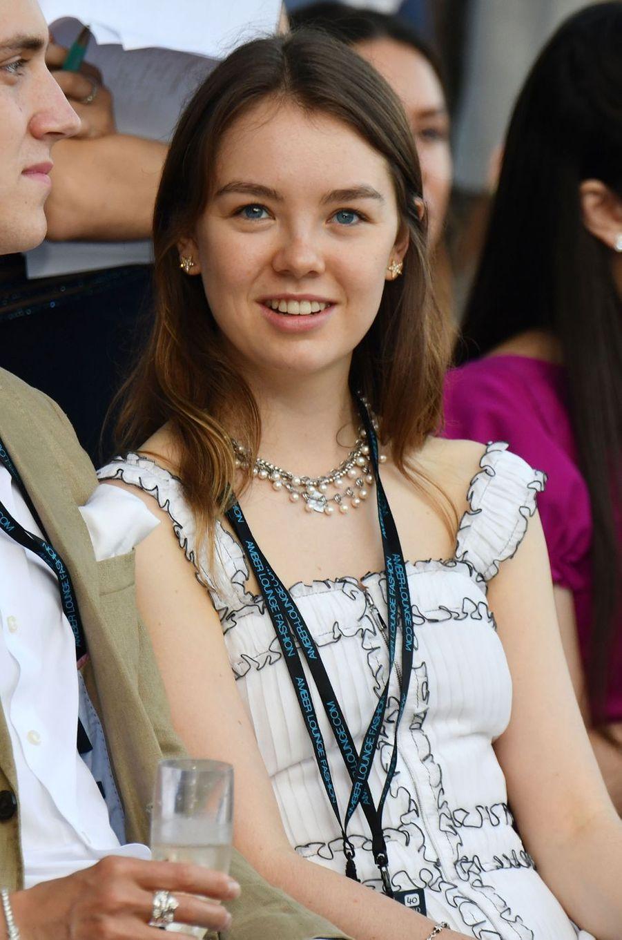 La princesse Alexandra de Hanovre à Monaco, le 25 mai 2018