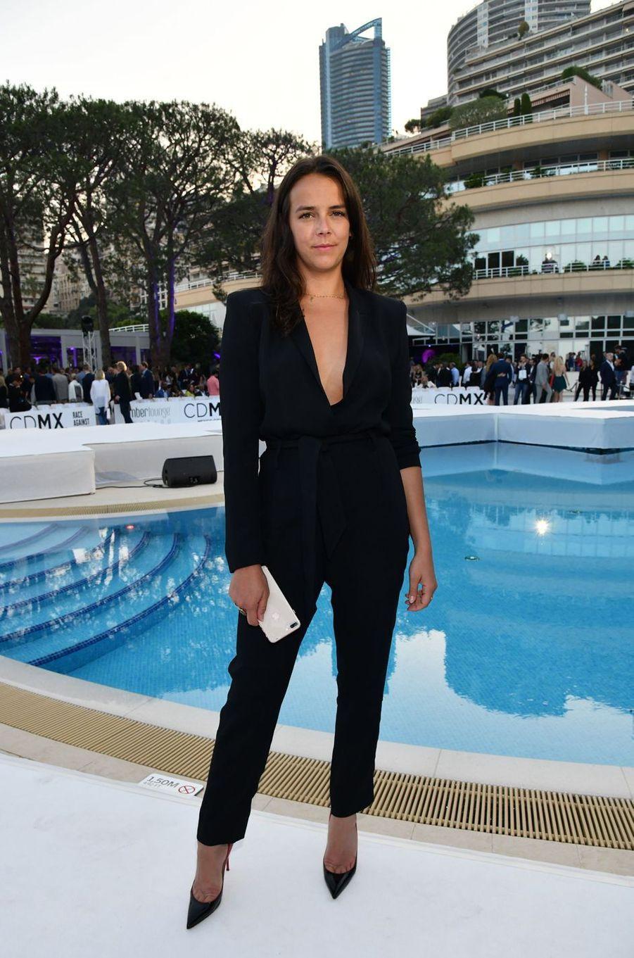 Pauline Ducruet à l'hôtel Méridien Beach Plaza à Monaco, le 25 mai 2018