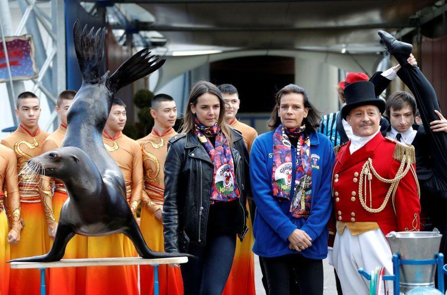 Stéphanie De Monaco Et Sa Fille Pauline Ducruet Lance Le 41e Festival International Du Cirque De Monte Carlo 10