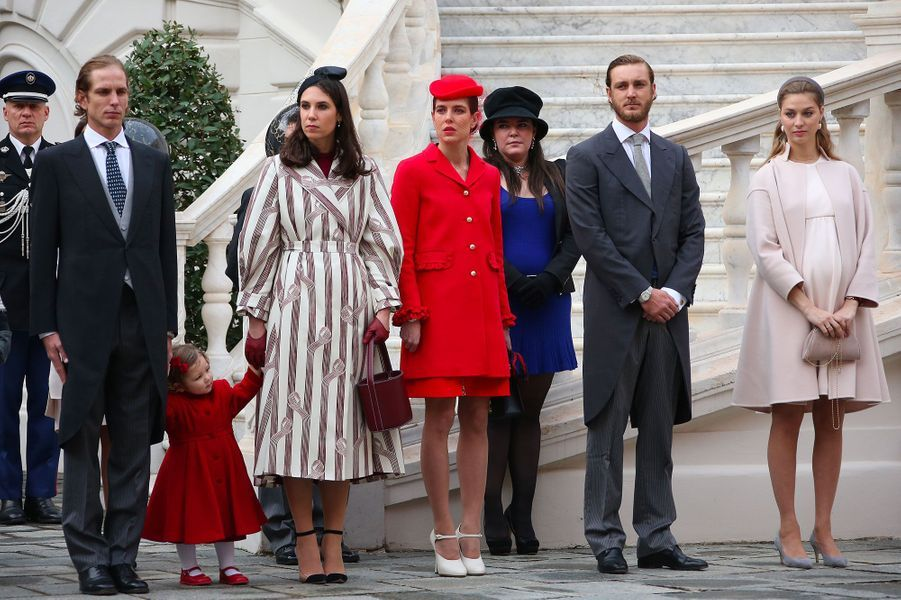 Andrea Casiraghi, India Casiraghi , Tatiana Santo Domingo, Charlotte Casiraghi, Pierre Casiraghi, Beatrice Borromeo