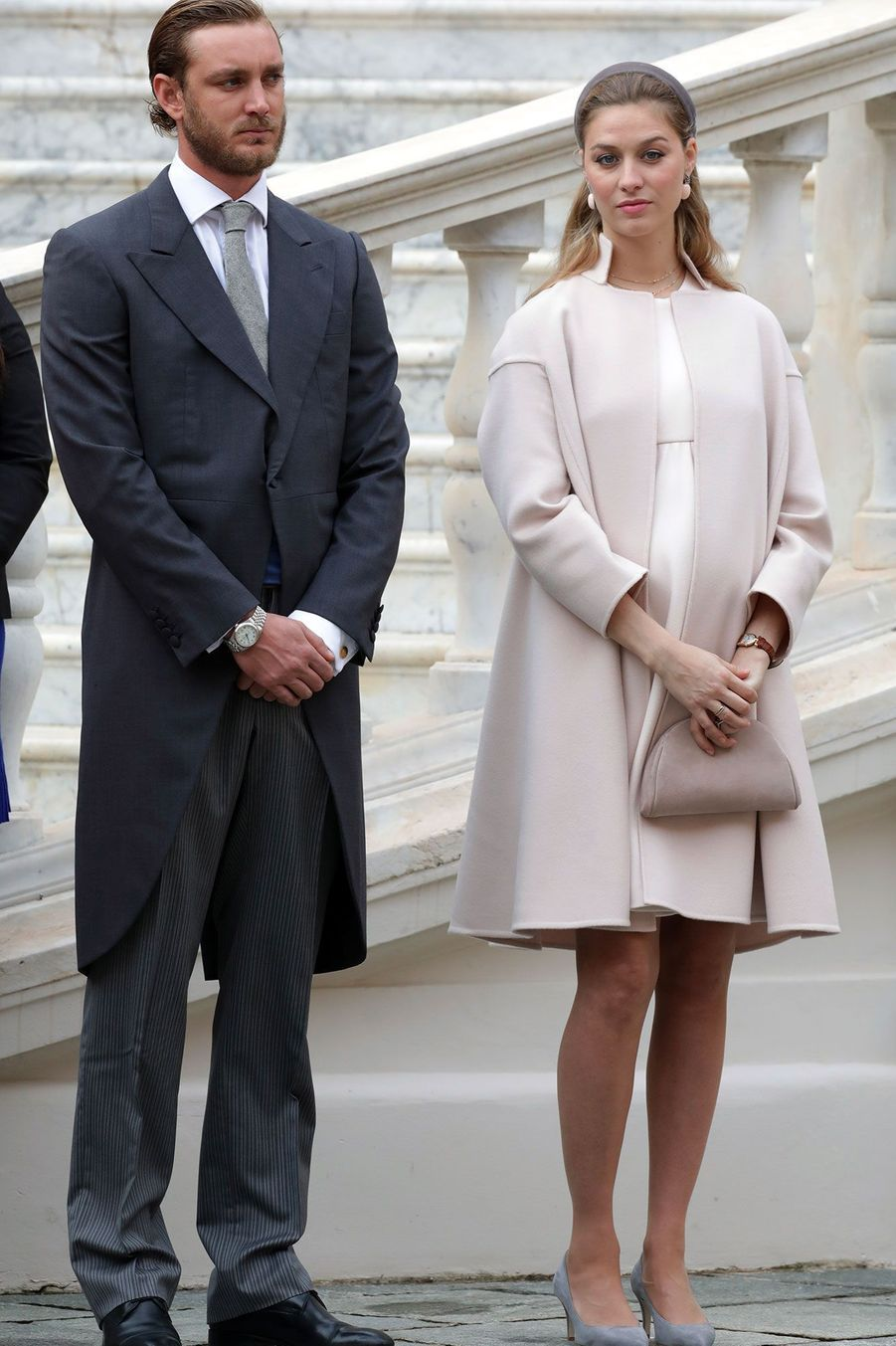 Pierre et Beatrice Casiraghi
