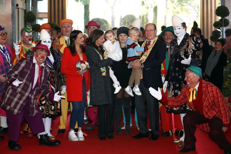 Gabriella Et Jacques De Monaco Au Festival Du Cirque De Monte Carlo 10
