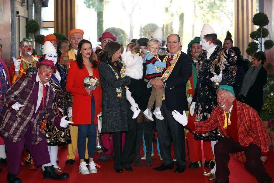 Gabriella Et Jacques De Monaco Au Festival Du Cirque De Monte Carlo 12