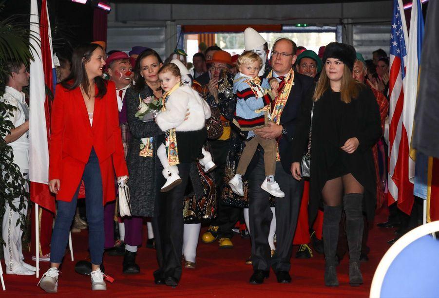 Gabriella Et Jacques De Monaco Au Festival Du Cirque De Monte Carlo 15