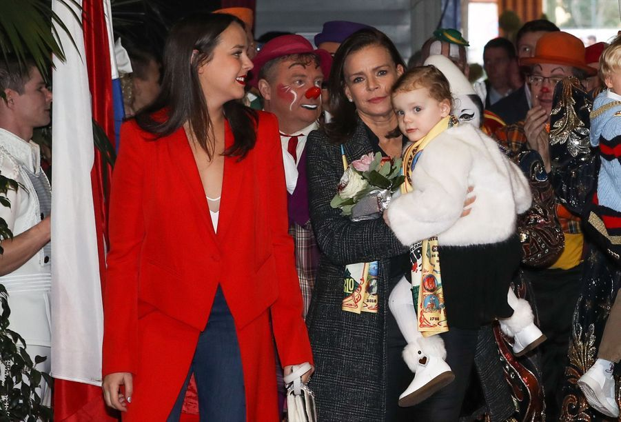 Gabriella Et Jacques De Monaco Au Festival Du Cirque De Monte Carlo 17