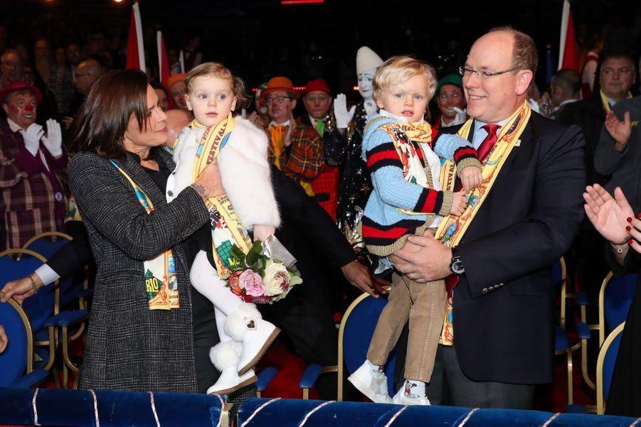 Gabriella Et Jacques De Monaco Au Festival Du Cirque De Monte Carlo 24