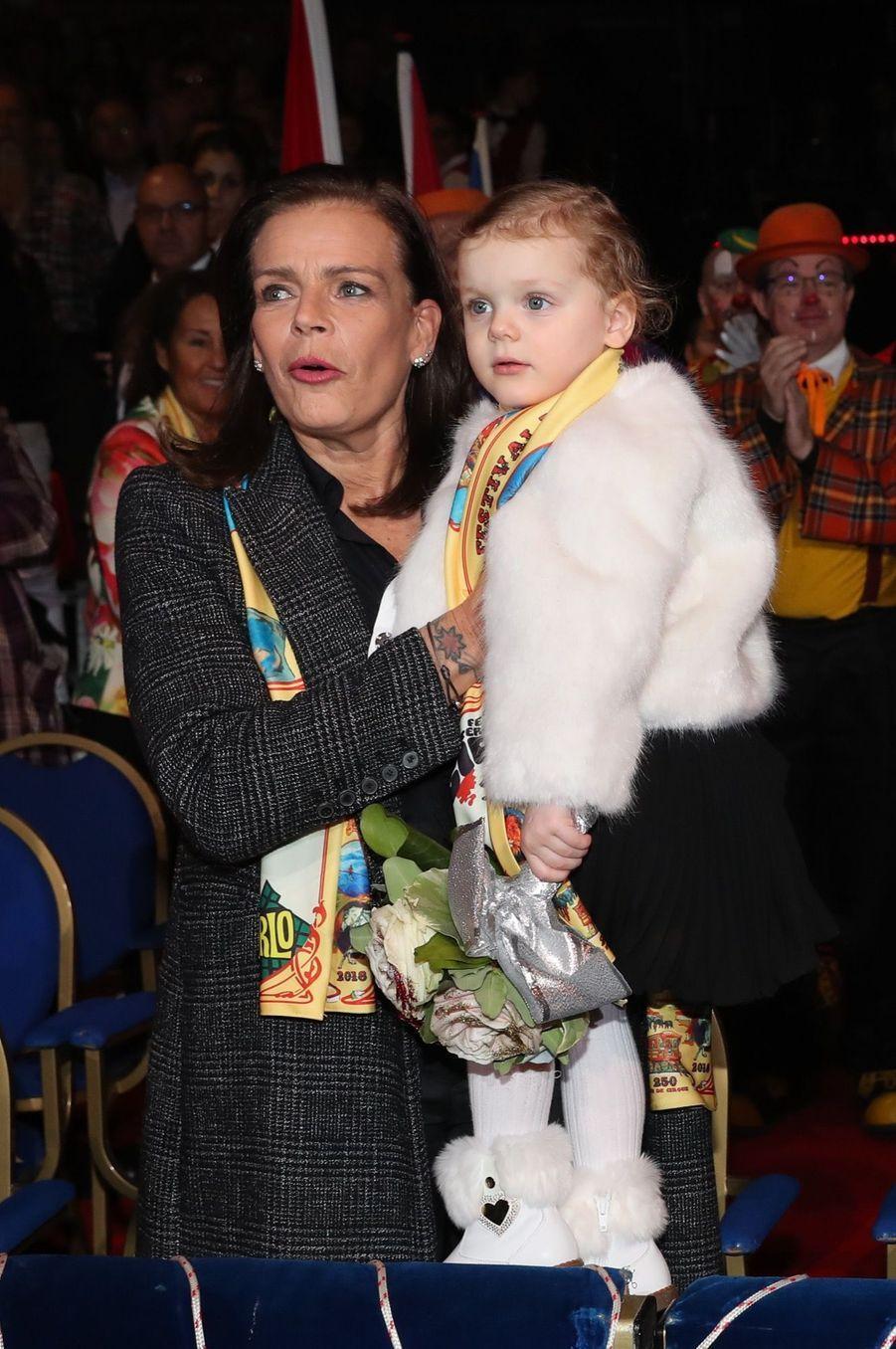 Gabriella Et Jacques De Monaco Au Festival Du Cirque De Monte Carlo 25
