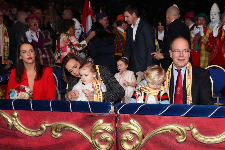 Gabriella Et Jacques De Monaco Au Festival Du Cirque De Monte Carlo 27