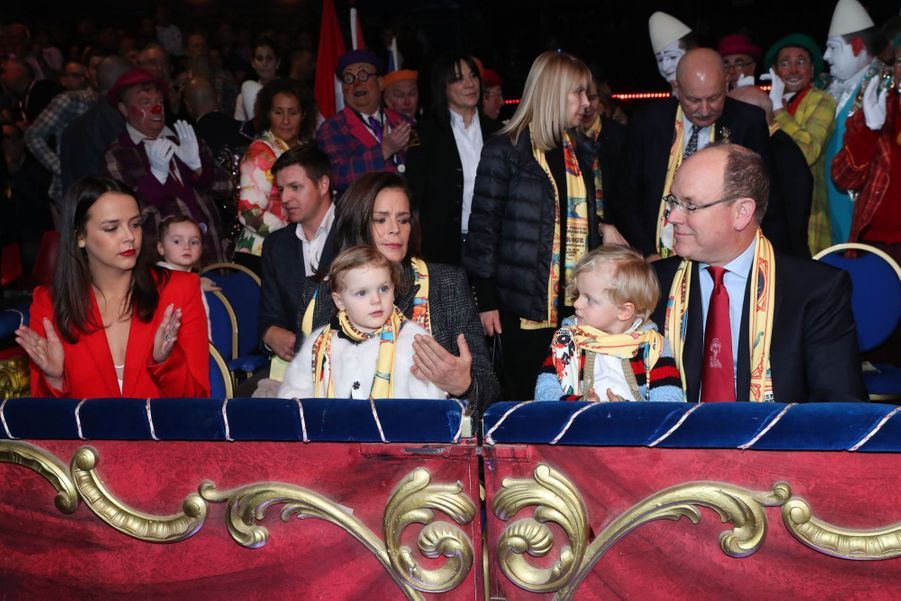 Gabriella Et Jacques De Monaco Au Festival Du Cirque De Monte Carlo 30