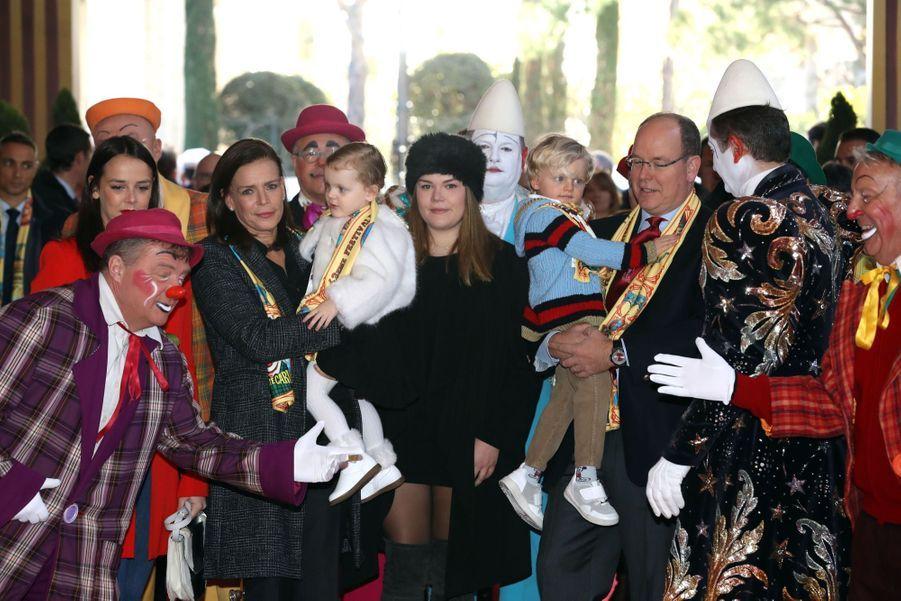 Gabriella Et Jacques De Monaco Au Festival Du Cirque De Monte Carlo 6