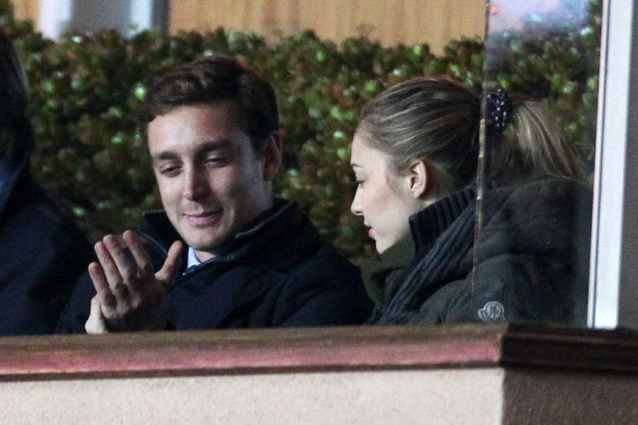 Pierre Casiraghi et Beatrice, fans de l'ASM