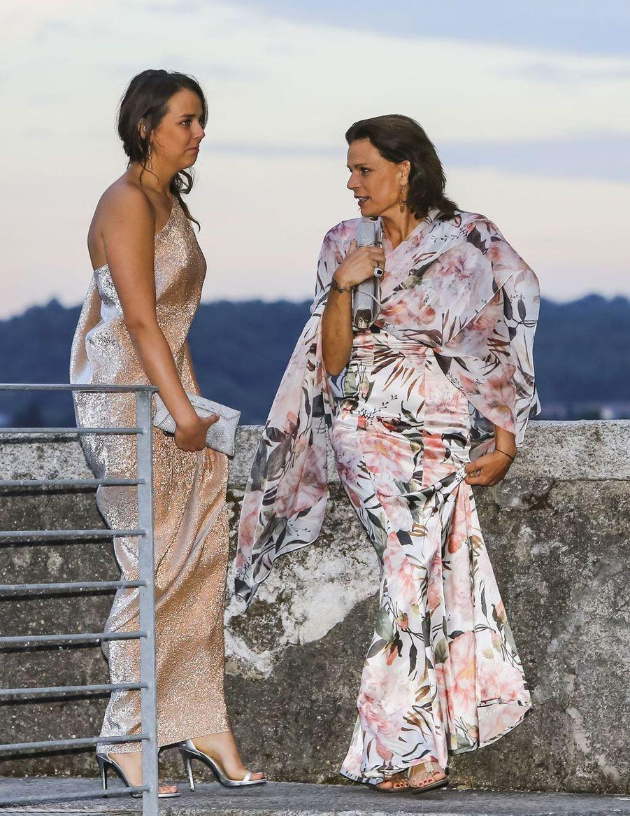 Pauline Ducruet et Stéphanie de Monaco