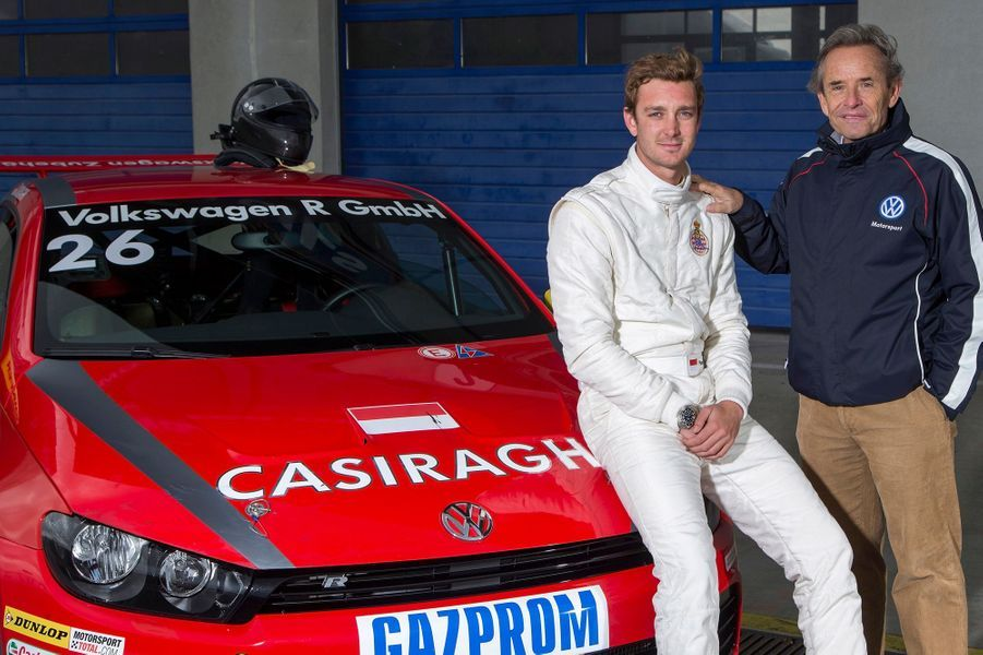 Pierre Casiraghi, profession pilote