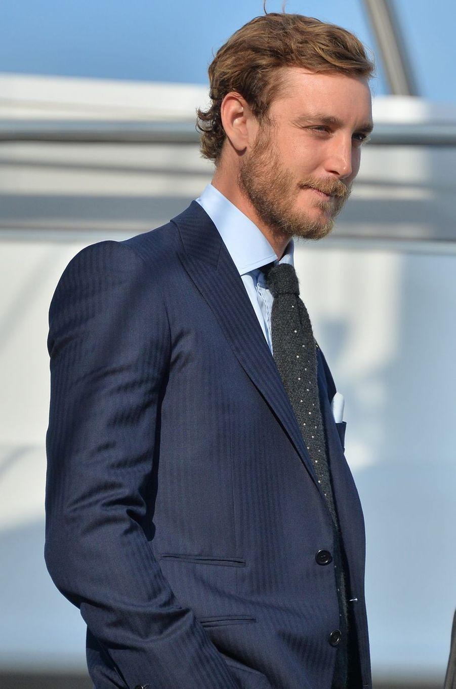 Pierre Casiraghi à Monaco, le 6 mai 2016