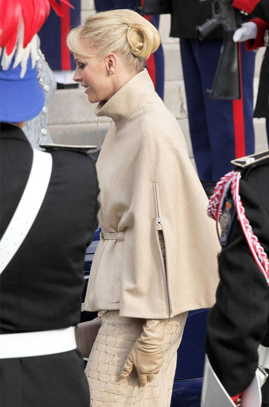 La princesse Charlène de Monaco, le 19 novembre 2011