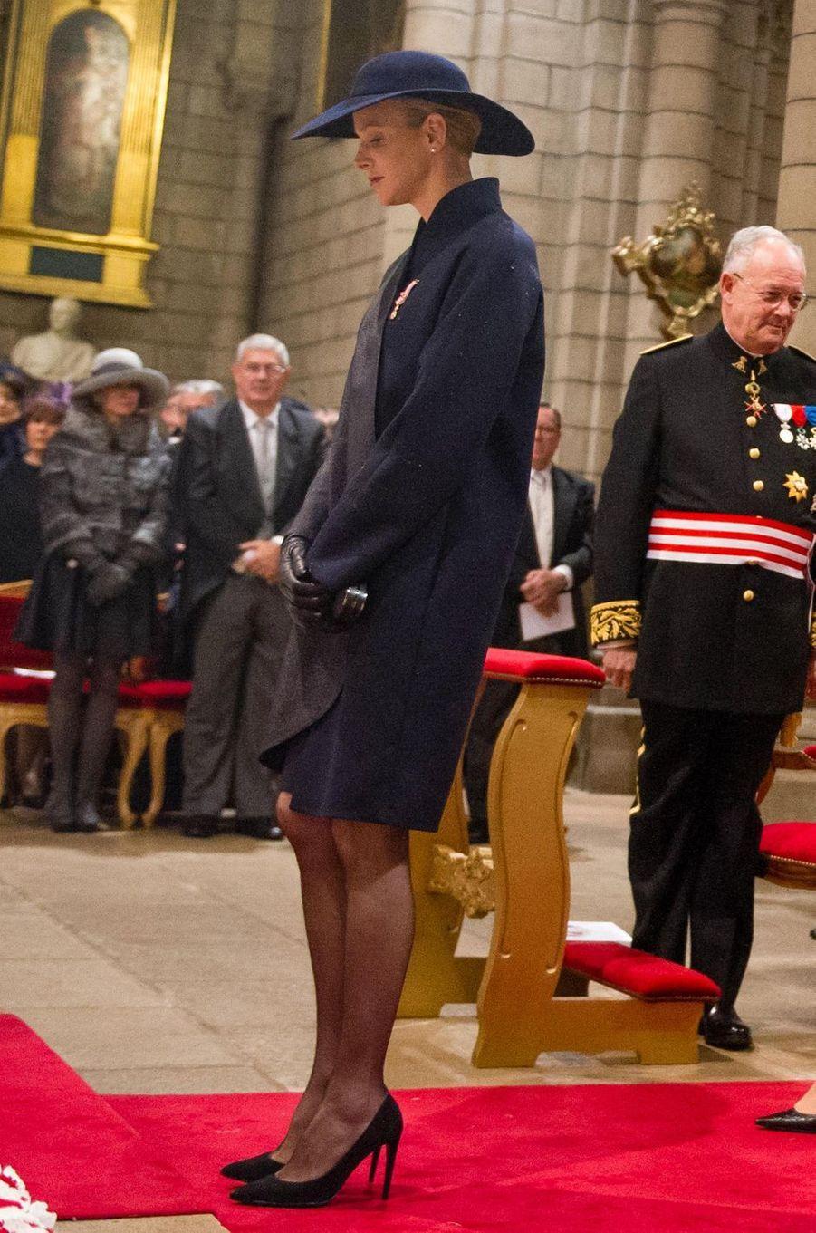 La princesse Charlène de Monaco, le 19 novembre 2013