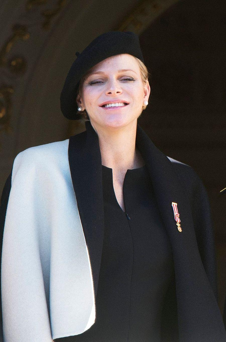 La princesse Charlène de Monaco, le 19 novembre 2014