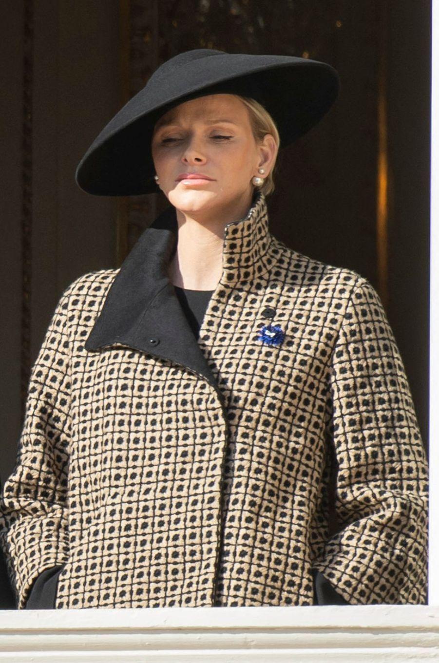 La princesse Charlène de Monaco, le 19 novembre 2018