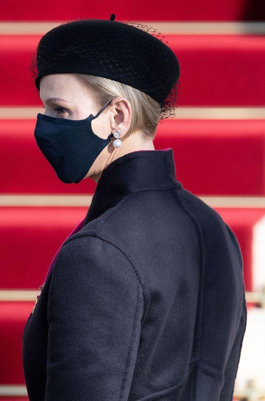 La princesse Charlène de Monaco, le 19 novembre 2020