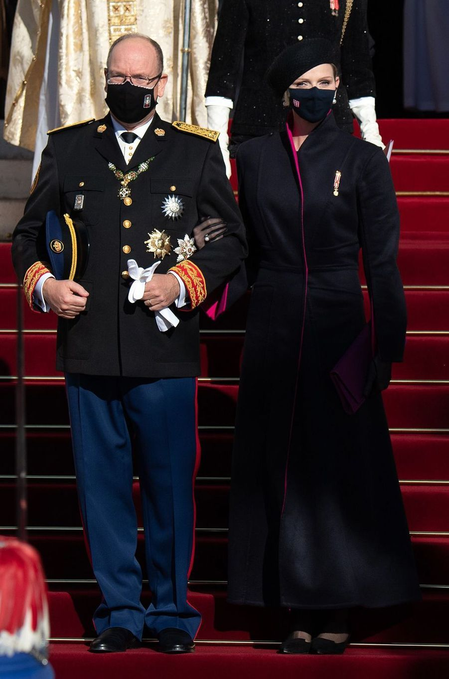 La princesse Charlène de Monaco en Terrence Bray, le 19 novembre 2020