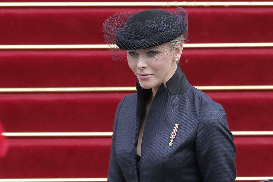 La princesse Charlène de Monaco, le 19 novembre 2012