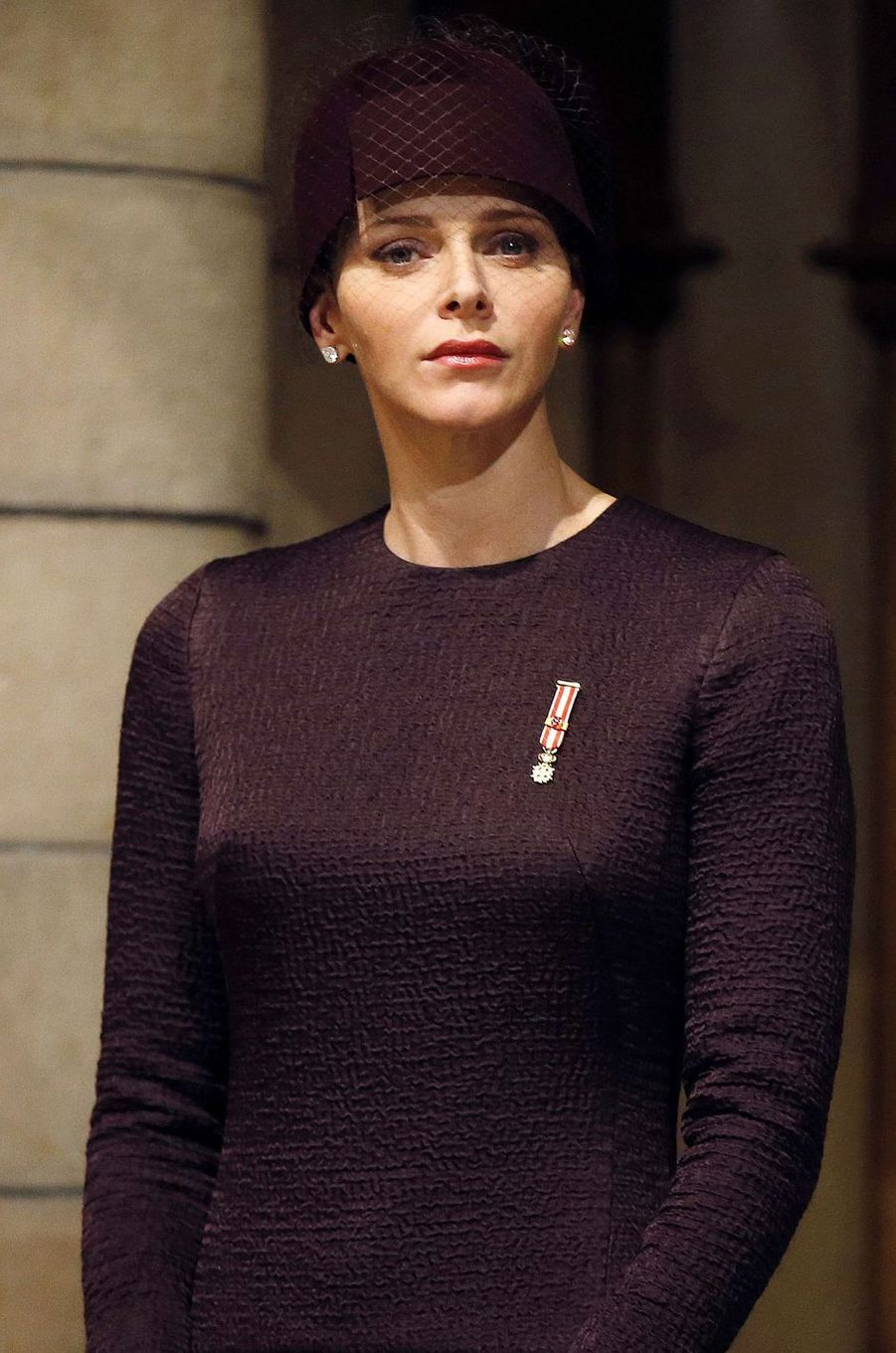 La princesse Charlène de Monaco, le 19 novembre 2015
