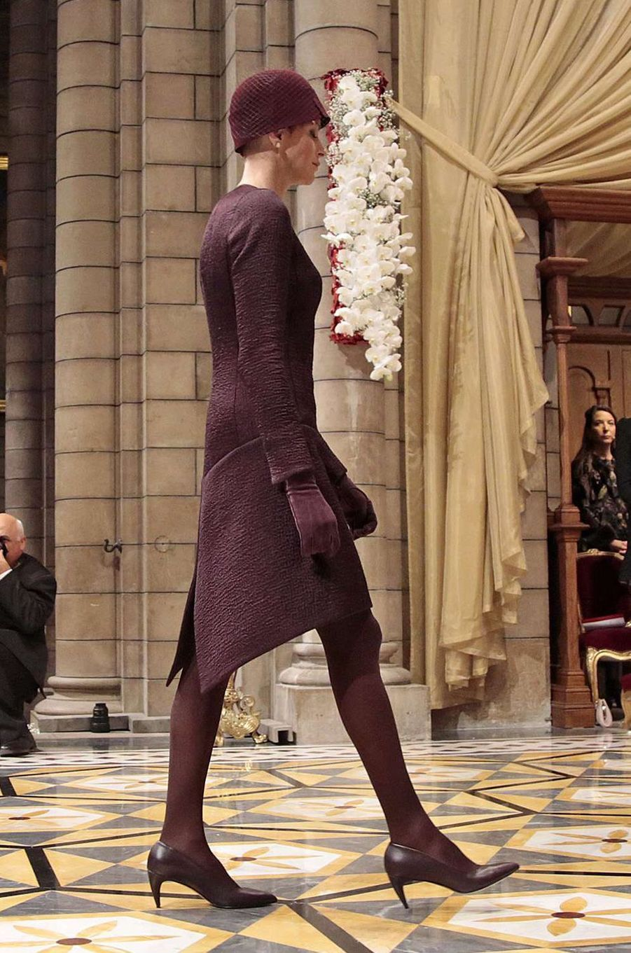 La princesse Charlène de Monaco en Akris, le 19 novembre 2015