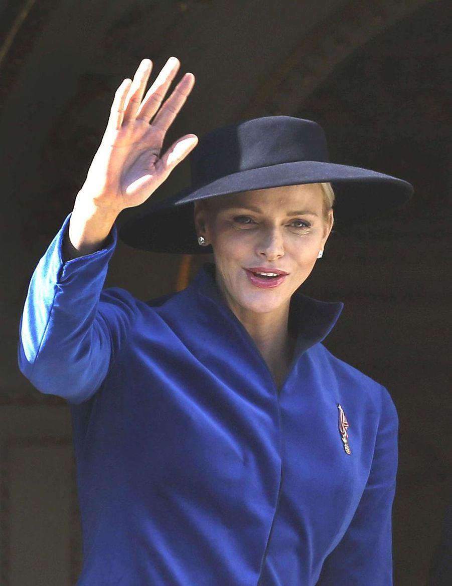 La princesse Charlène de Monaco, le 19 novembre 2017
