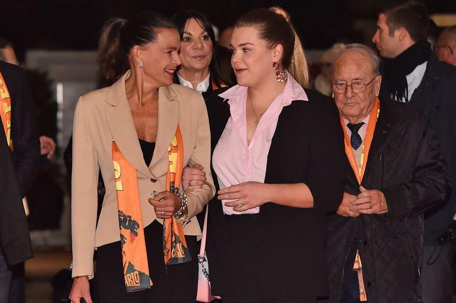 La princesse Stéphanie de Monaco à Monaco, le 19 janvier 2019