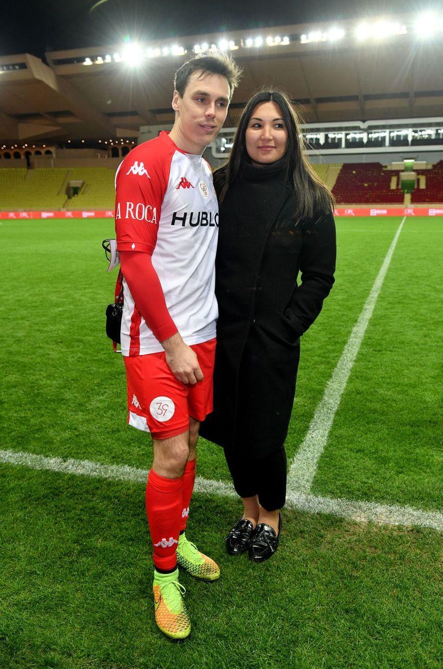 Louis Ducruet et sa femme Marie à Monaco, le 20 janvier 2020