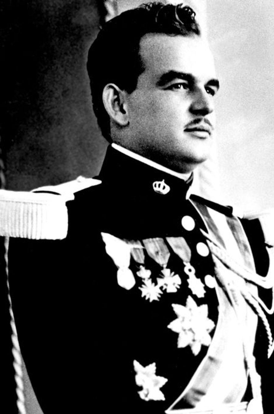 Le prince Rainier III de Monaco, le 1er octobre 1949