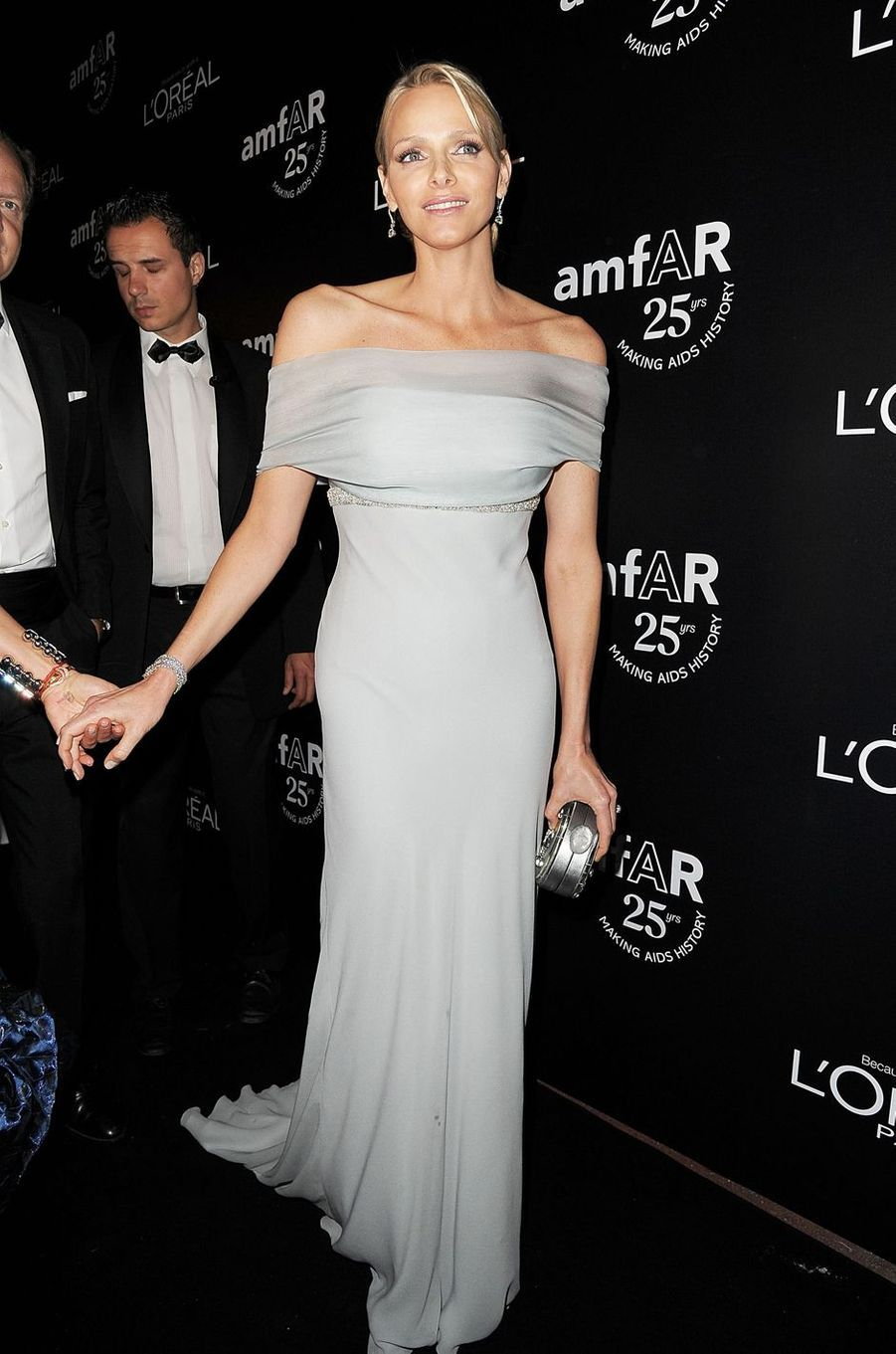Charlène Wittstock, peu de temps avant son mariage avec le prince Albert II de Monaco, le 19 mai 2011