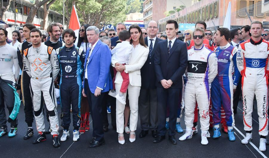 Raphaël Et Charlotte Casiraghi À La Remise Des Trophées De L'ePrix De Monaco 15
