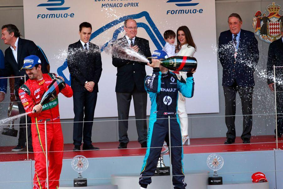 Raphaël Et Charlotte Casiraghi À La Remise Des Trophées De L'ePrix De Monaco 18