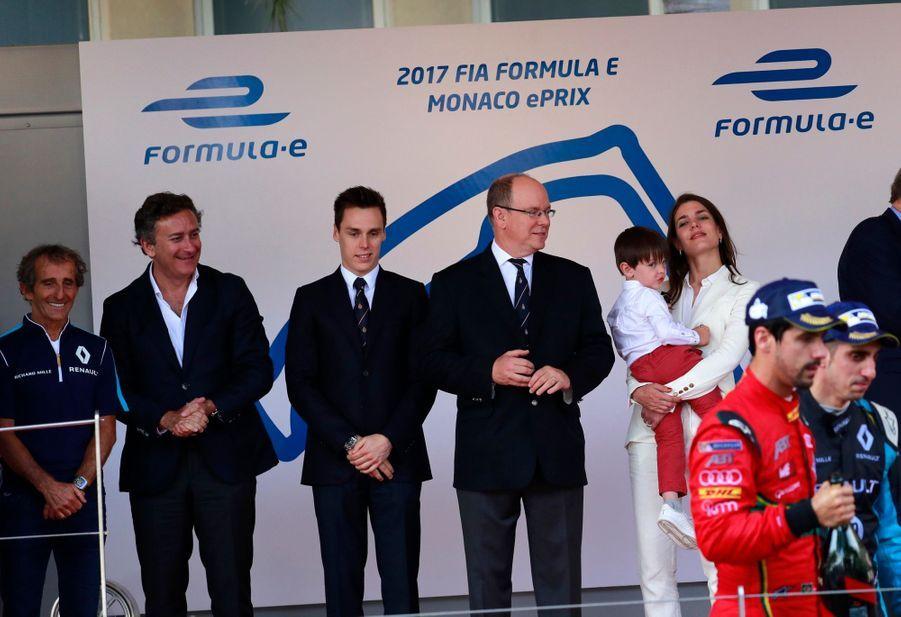 Raphaël Et Charlotte Casiraghi À La Remise Des Trophées De L'ePrix De Monaco 20