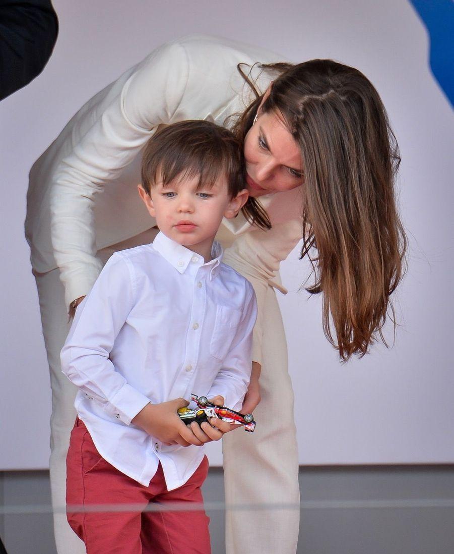 Raphaël Et Charlotte Casiraghi À La Remise Des Trophées De L'ePrix De Monaco 5