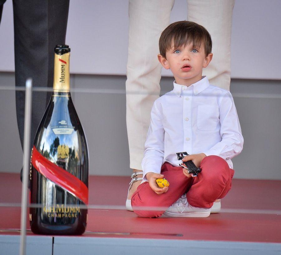 Raphaël Et Charlotte Casiraghi À La Remise Des Trophées De L'ePrix De Monaco 7