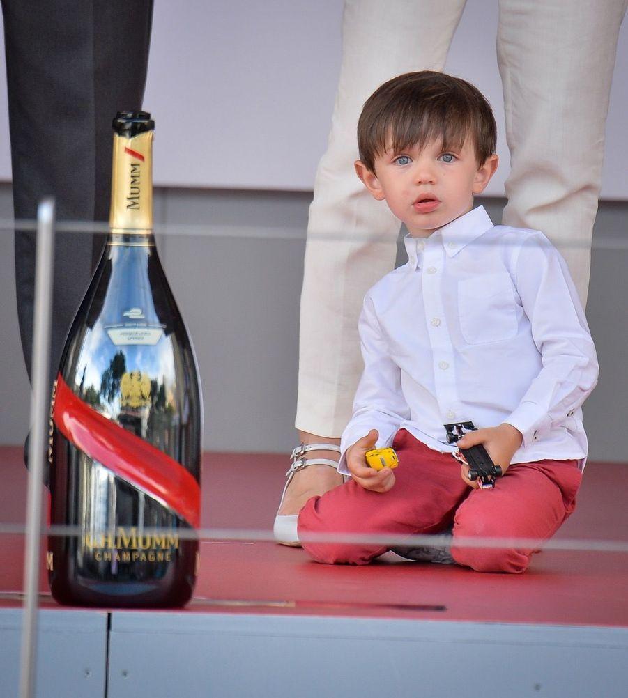 Raphaël Et Charlotte Casiraghi À La Remise Des Trophées De L'ePrix De Monaco 8