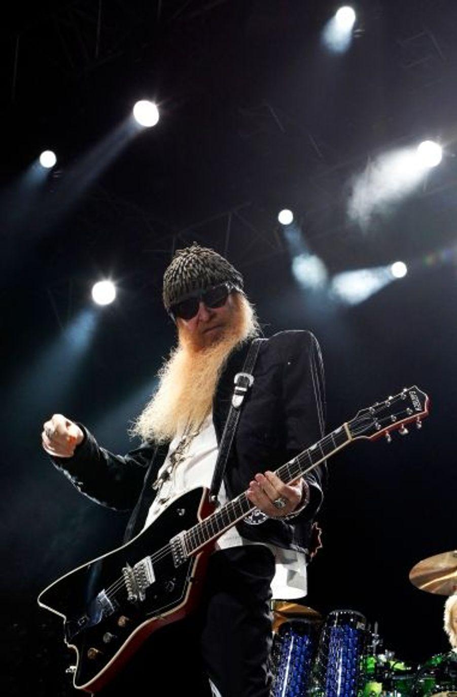 Le génial guitariste des ZZ Top, Billy Gibbons