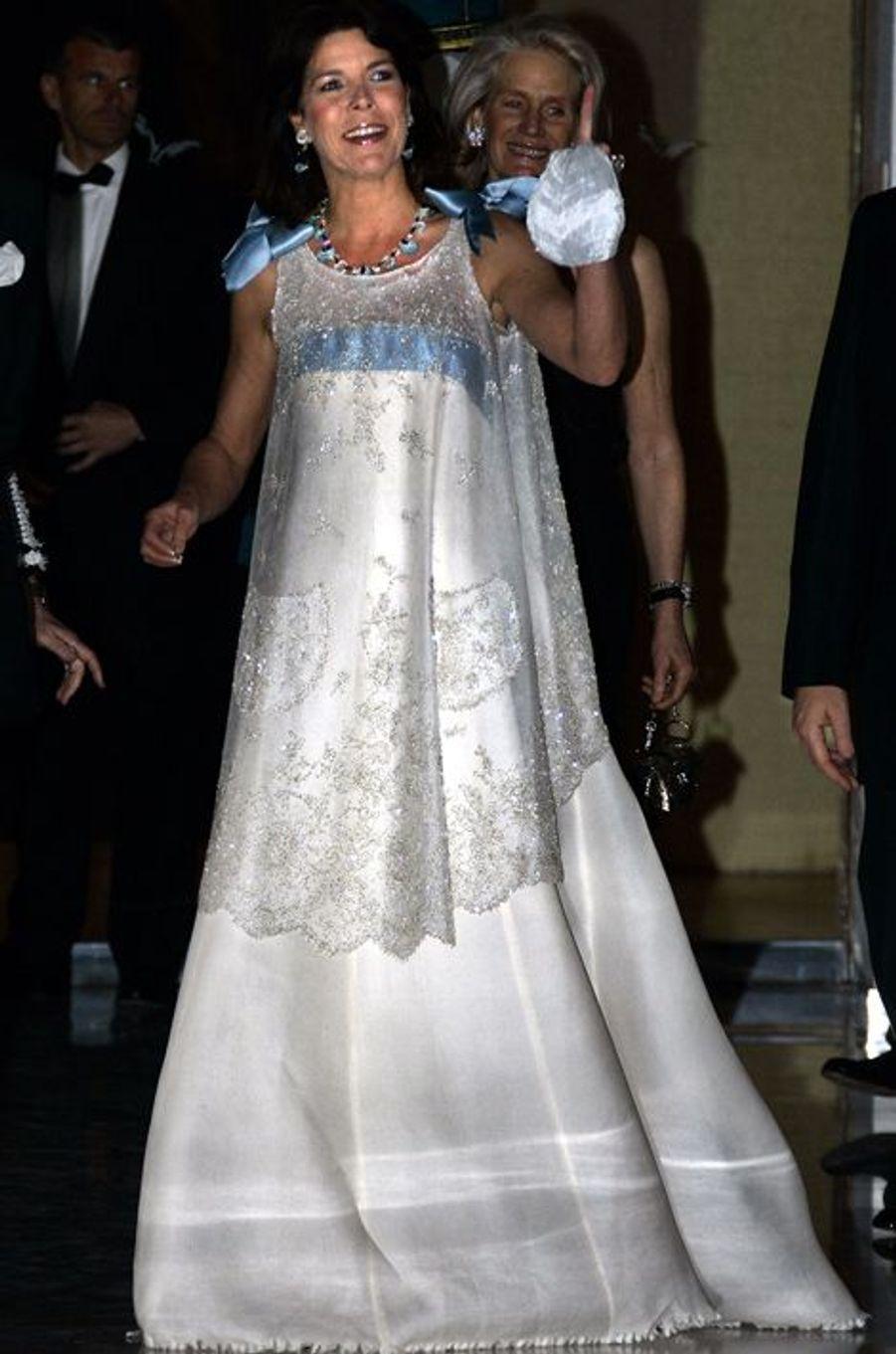 La princesse Caroline de Monaco au bal de la Rose 2005