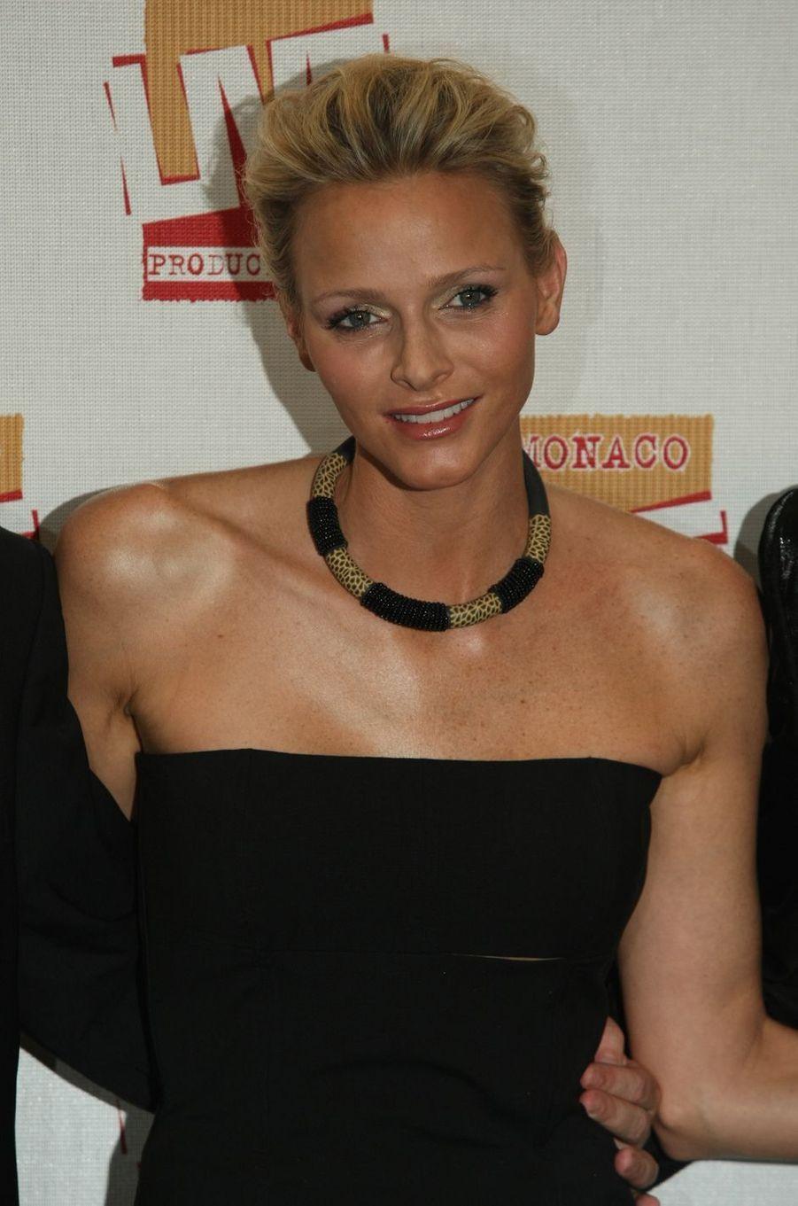 Charlène Wittstock, à Monaco le 30 juin 2011
