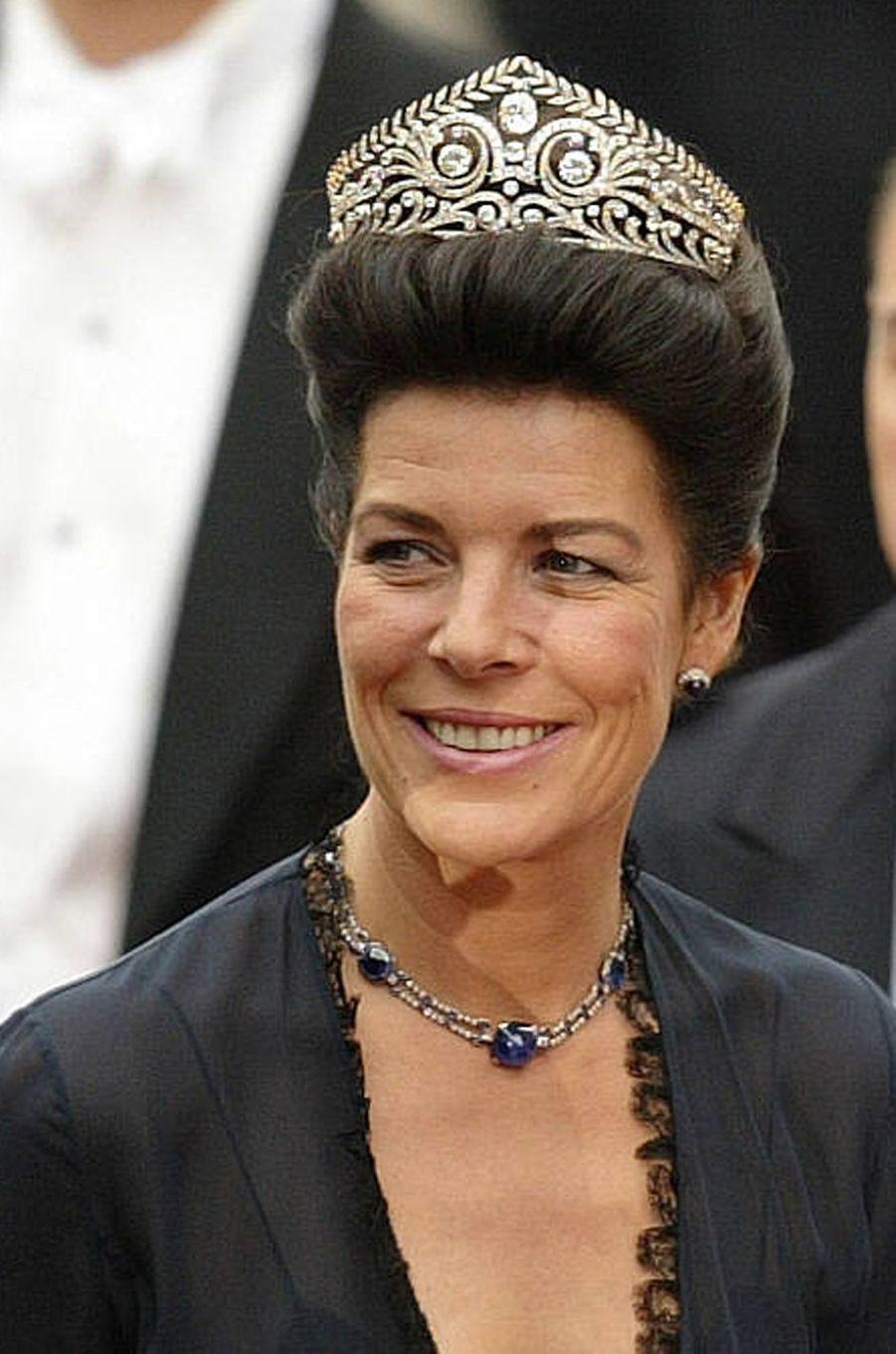 Caroline de Monaco, princesse de Hanovre, le 14 mai 2004