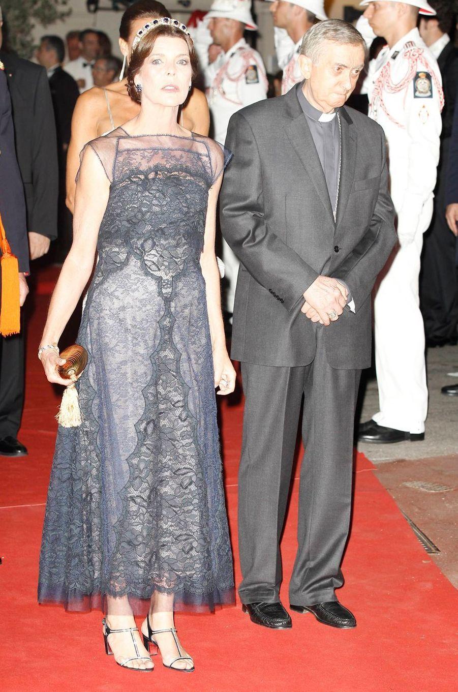 Caroline de Monaco, princesse de Hanovre, le 2 juillet 2011