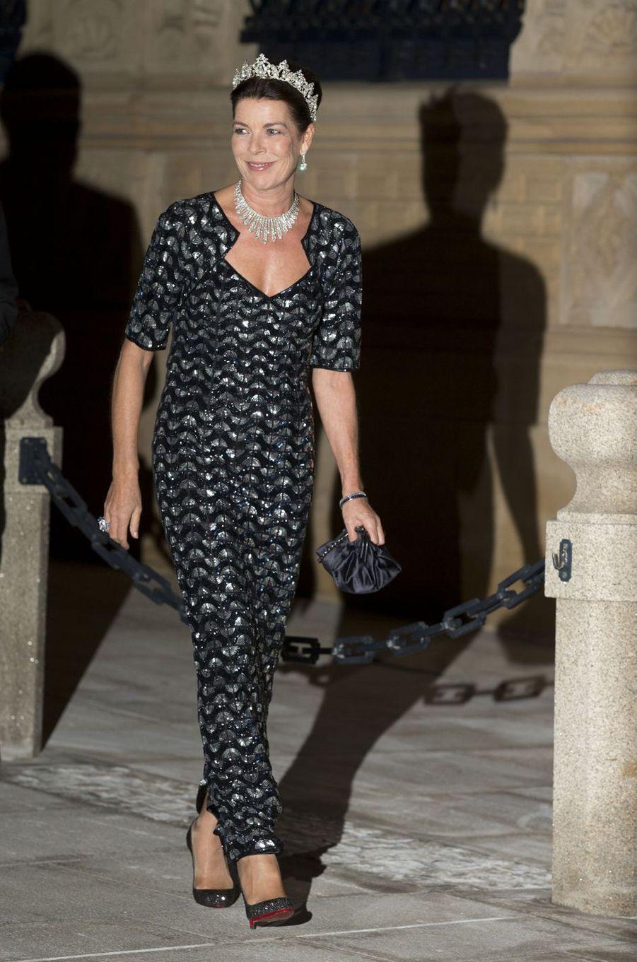 Caroline de Monaco, princesse de Hanovre, le 19 octobre 2012