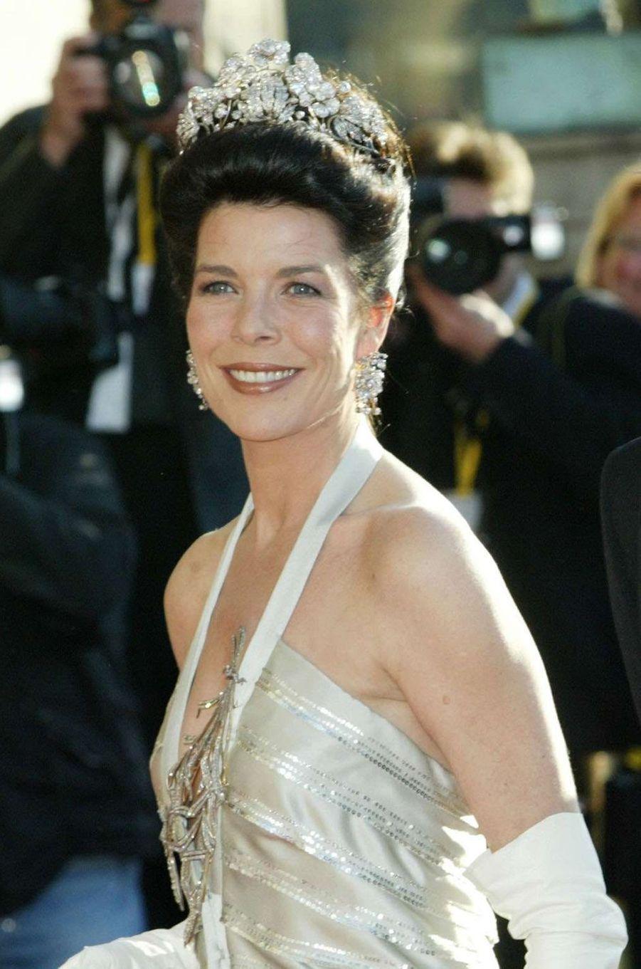 Caroline de Monaco, princesse de Hanovre, le 13 mai 2004