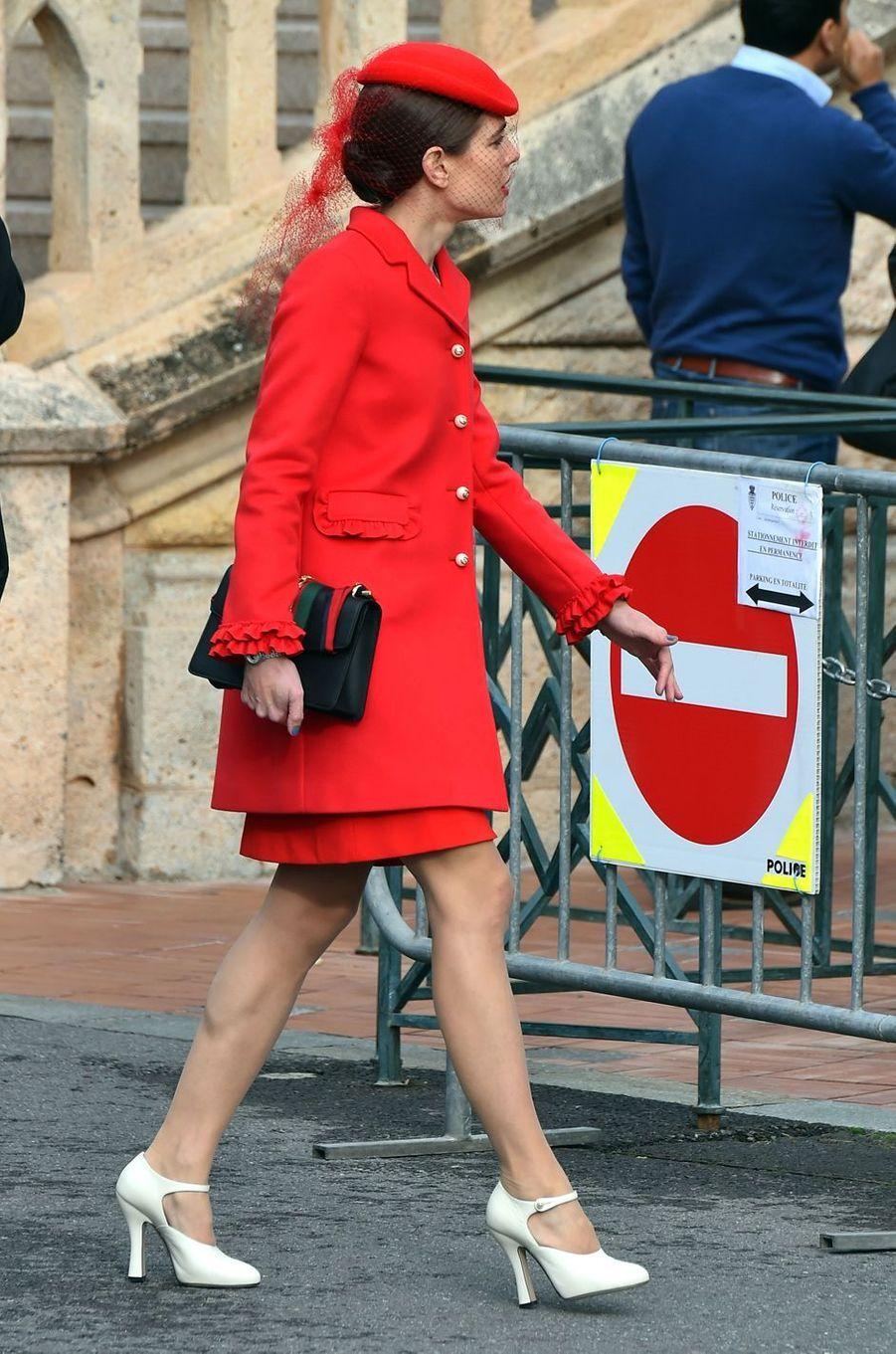Charlotte Casiraghi à Monaco le 19 novembre 2016