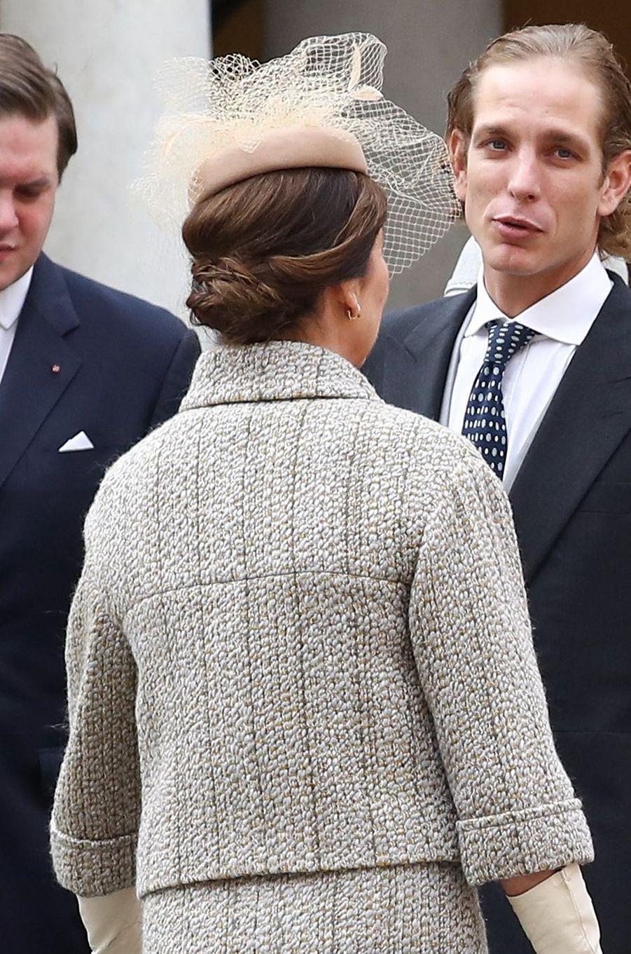 La princesse Caroline de Hanovre à Monaco le 19 novembre 2016