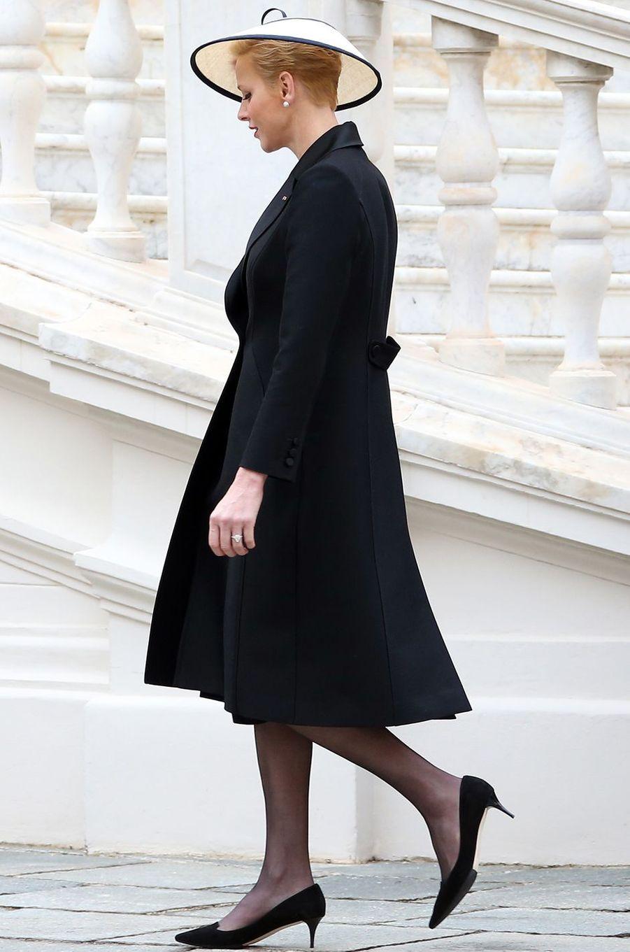 La princesse Charlène de Monaco à Monaco le 19 novembre 2016